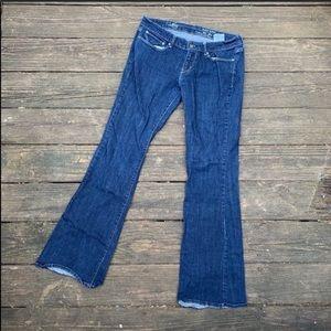 Levi's   Slight curve flare leg jeans size 31 x 32